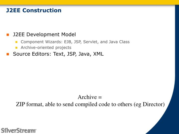 J2EE Construction