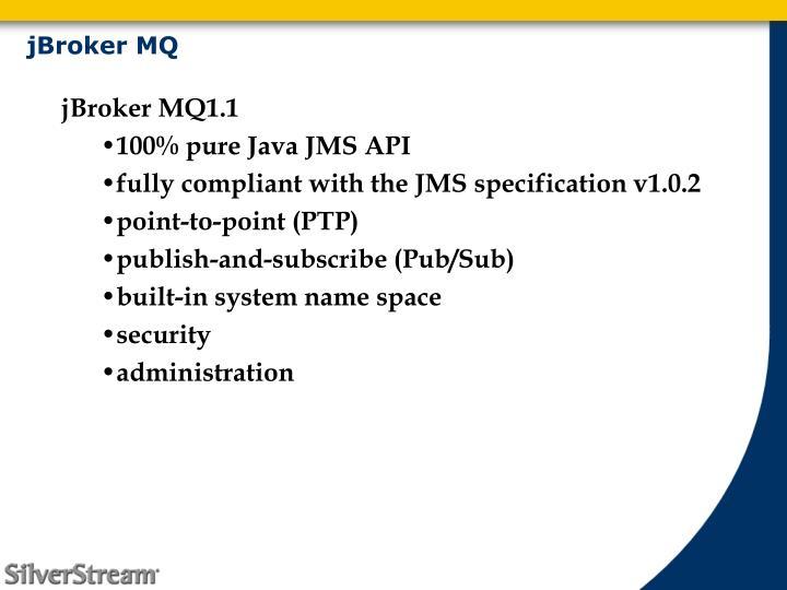 jBroker MQ