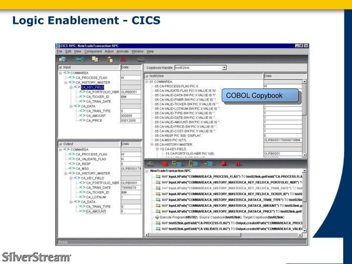 Logic Enablement - CICS