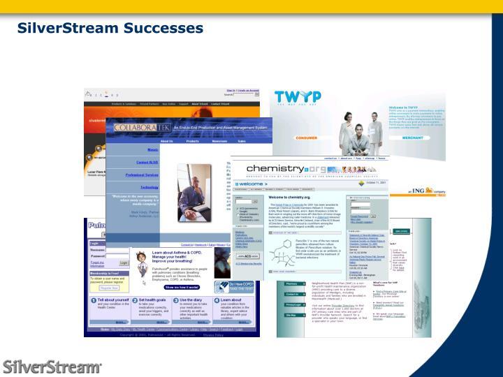 SilverStream Successes