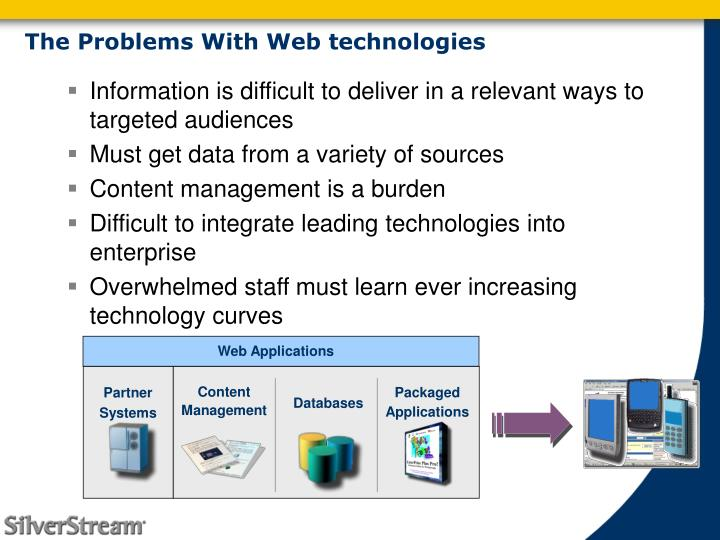 The Problems With Web technologies