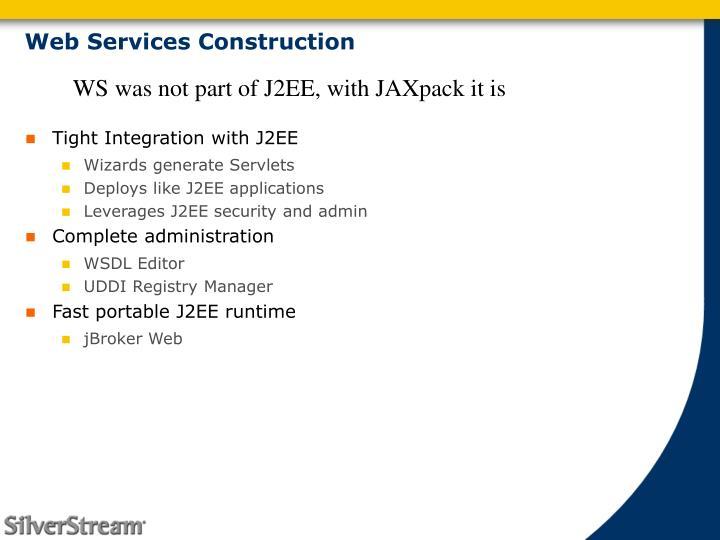 Web Services Construction