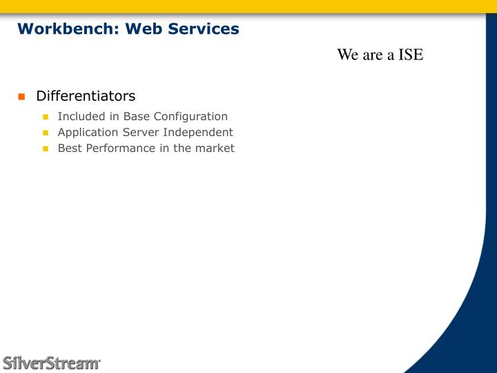 Workbench: Web Services