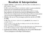 resultate interpretation4