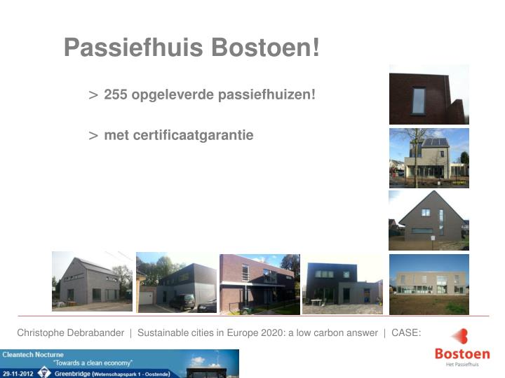Passiefhuis Bostoen!
