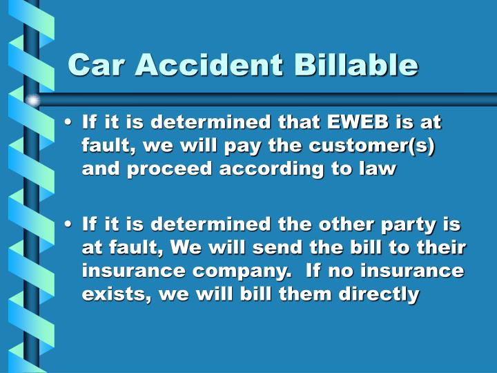 Car Accident Billable