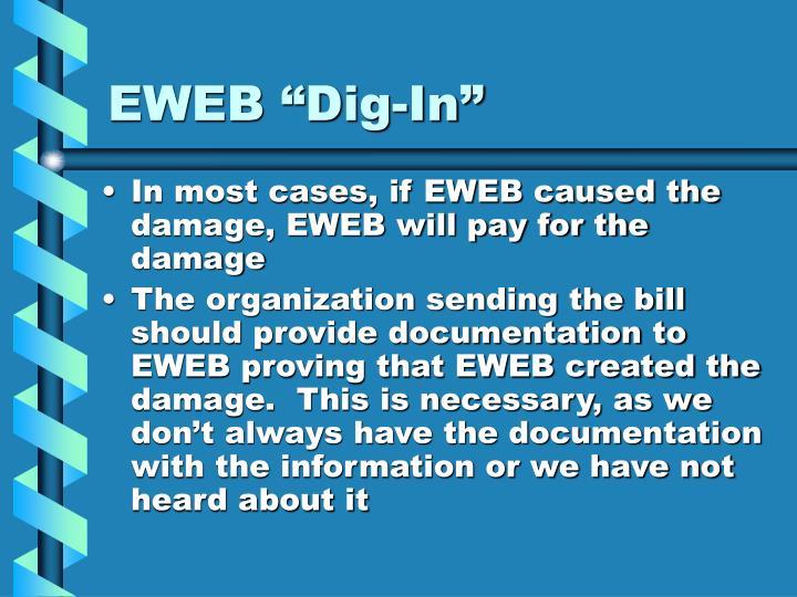 """EWEB """"Dig-In"""""""