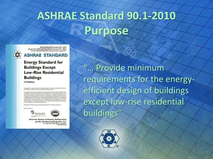 ASHRAE Standard 90.1-2010