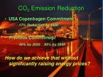 co 2 emission reduction
