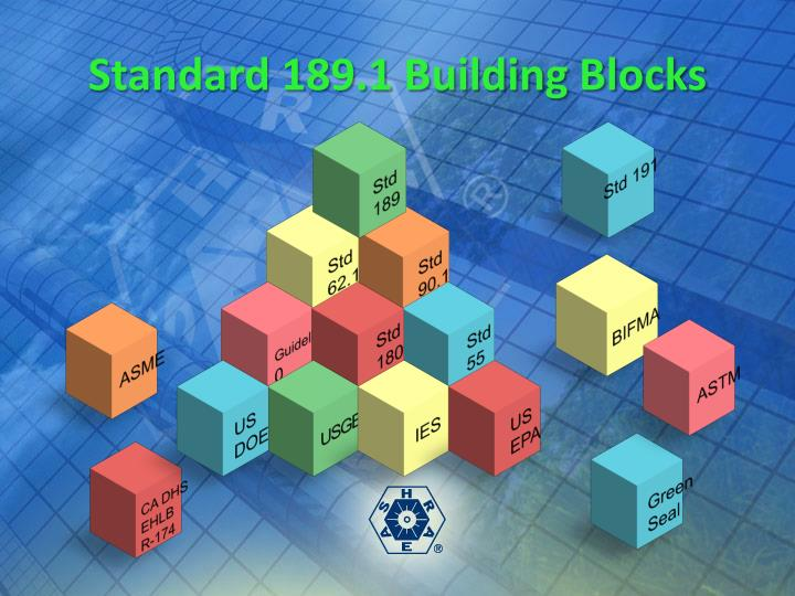 Standard 189.1 Building Blocks