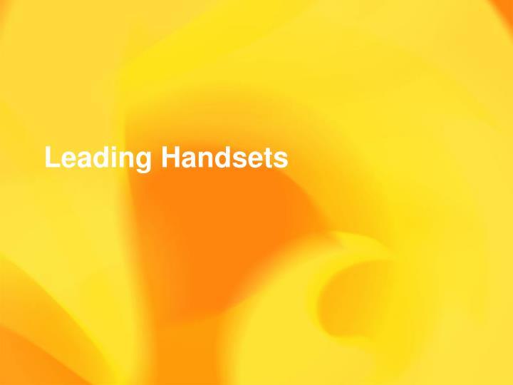 Leading Handsets