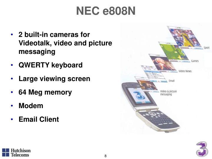 NEC e808N