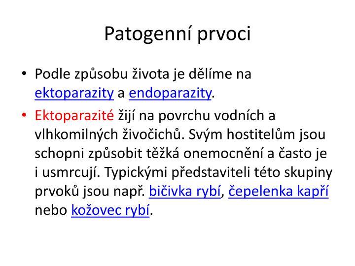 Patogenní prvoci