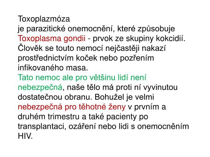 Toxoplazmóza