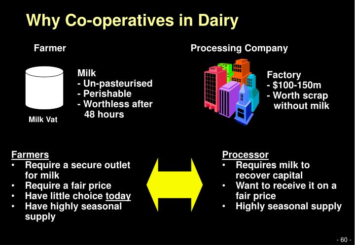 Why Co-operatives in Dairy