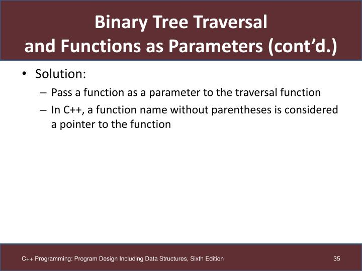 Binary Tree Traversal