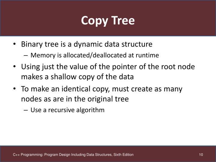 Copy Tree
