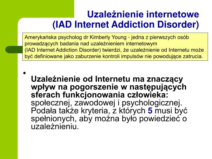 Uzależnienie internetowe