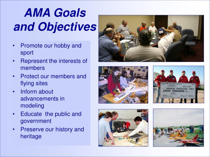 Ama goals and objectives