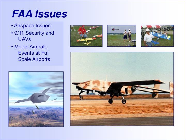 FAA Issues