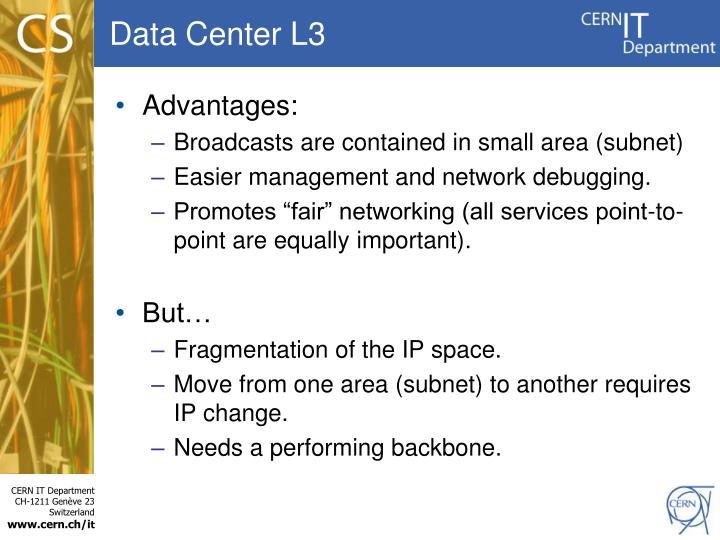Data Center L3