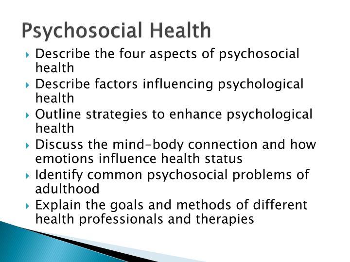 Psychosocial Health