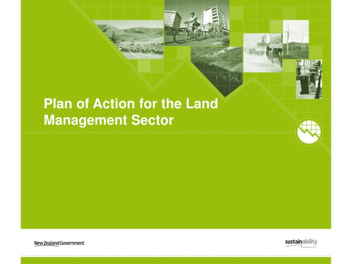 Plan of Action for the Land Management Sector