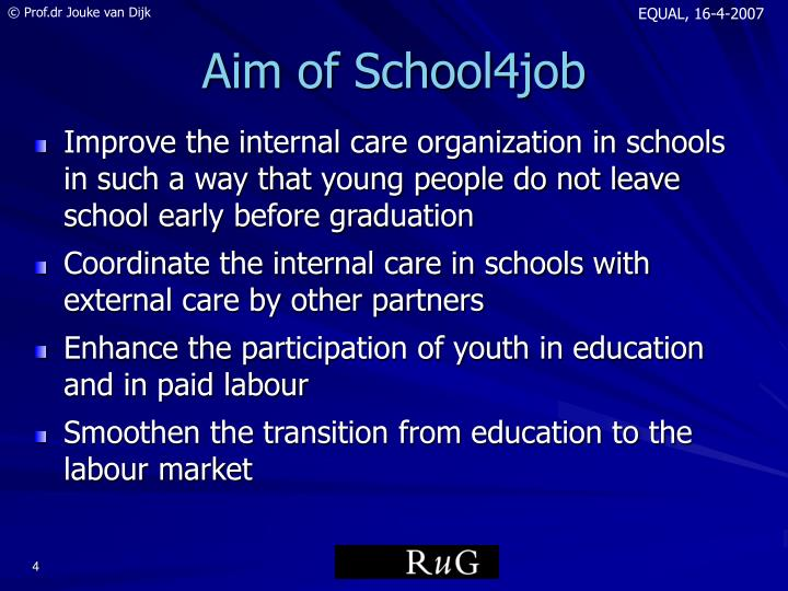 Aim of School4job