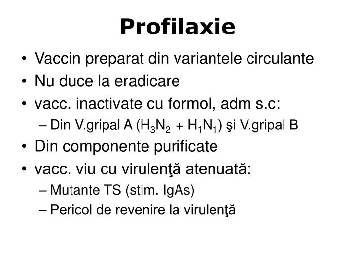 Profilaxie