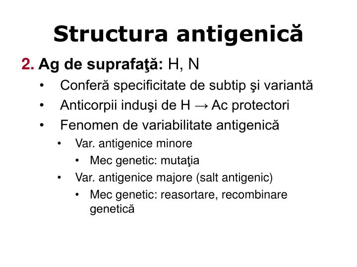 Structura antigenică