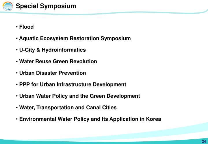 Special Symposium