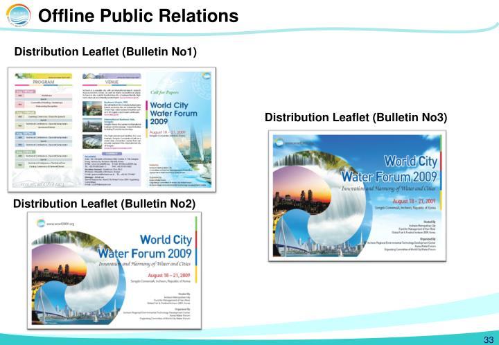Offline Public Relations