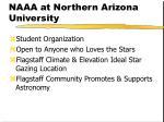 naaa at northern arizona university