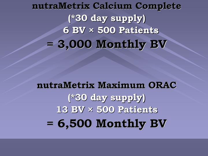 nutraMetrix Calcium Complete