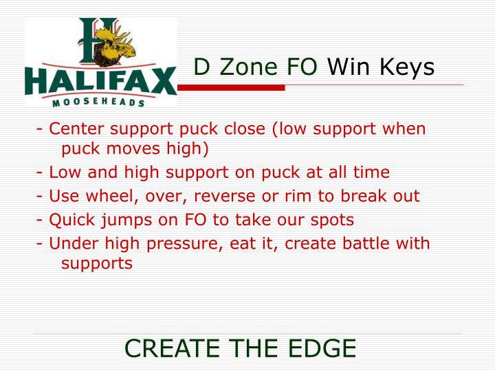 D Zone FO