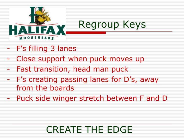 Regroup Keys