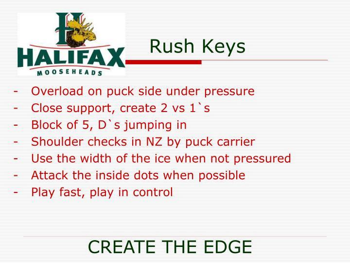 Rush Keys