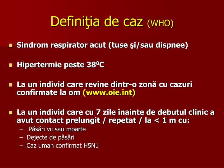 Definiţia de caz