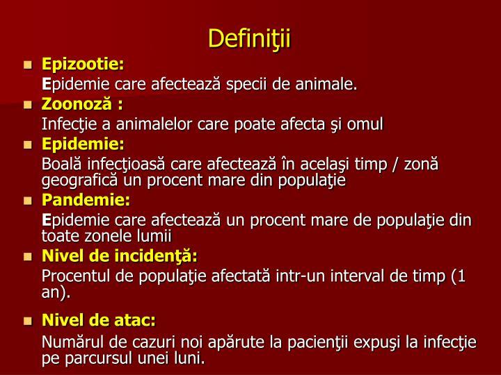 Definiţii
