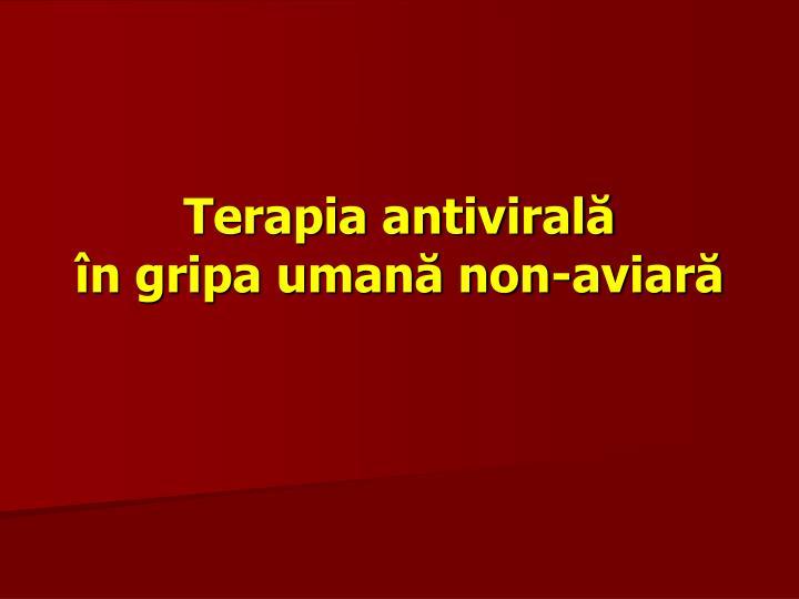 Terapia antivirală