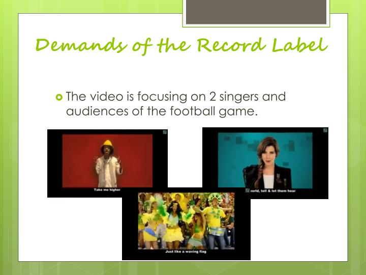 Demands of the Record Label