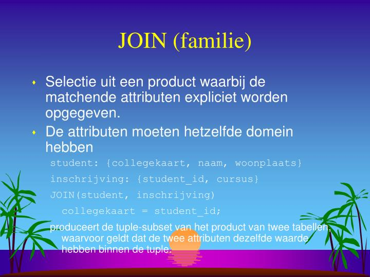 JOIN (familie)