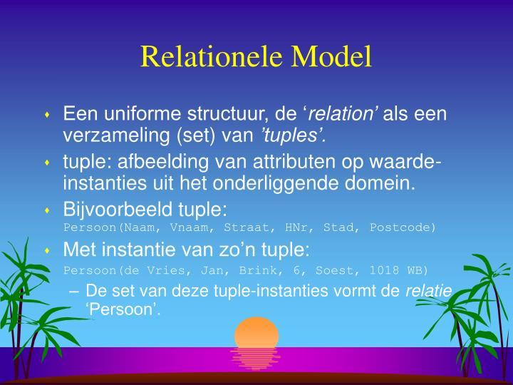 Relationele Model