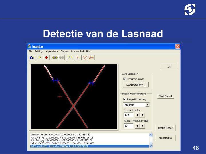 Detectie van de Lasnaad