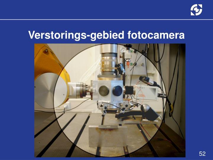 Verstorings-gebied fotocamera