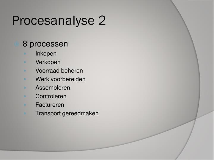 Procesanalyse 2