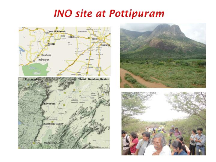 INO site at