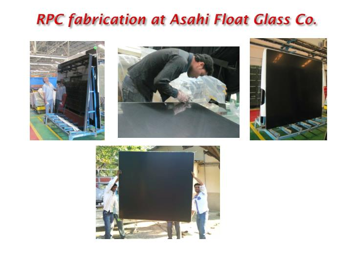 RPC fabrication at Asahi Float Glass Co
