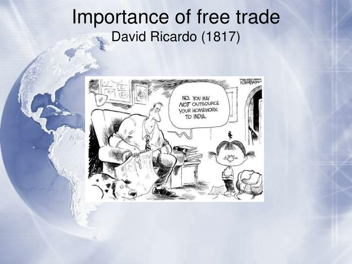 Importance of free trade
