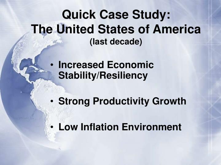 Quick Case Study: